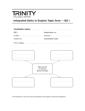 Examen de Trinity